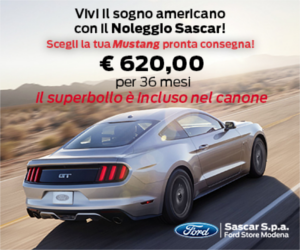 Ford: Promozione Mustang
