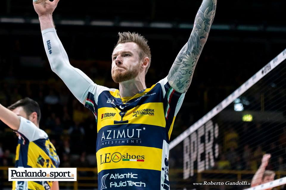Modena Volley-Sir Safety Perugia 3-2, intervista Mazzone e Zaytsev
