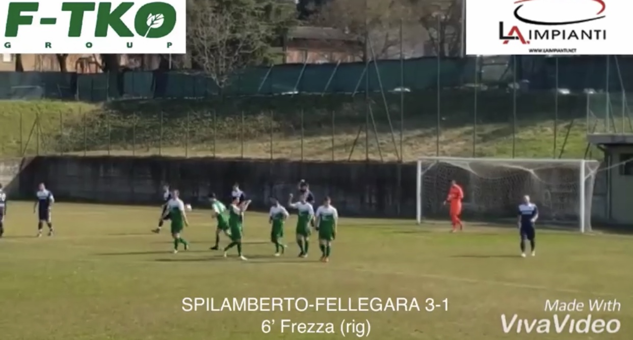 Dilettanti - Seconda Categoria: Spilamberto-Fellegara 3-1, highlights