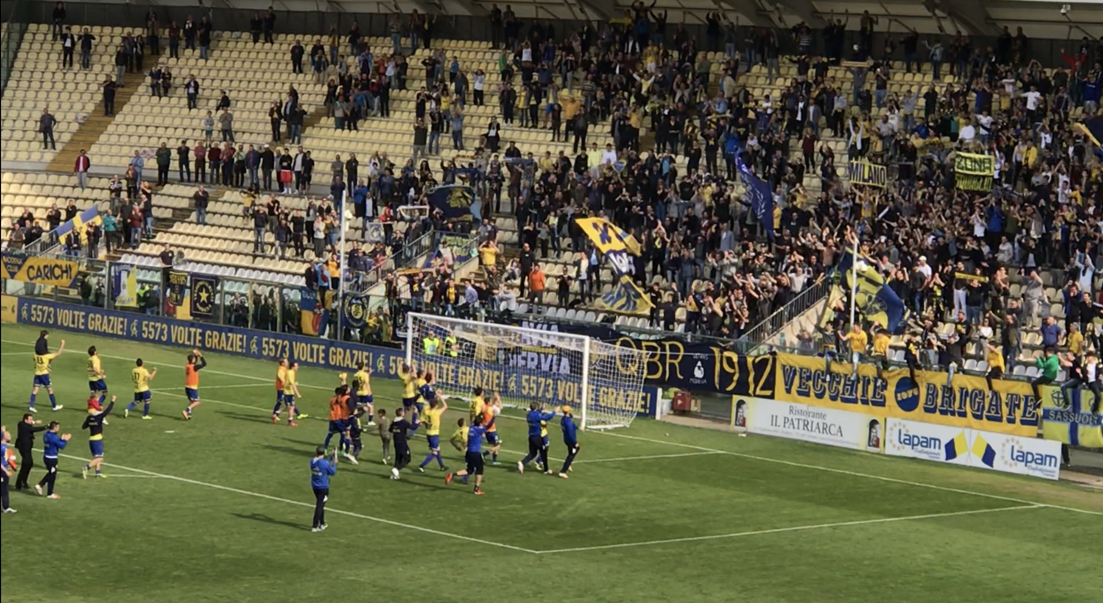 Serie D, highlights Modena-Adrense 1-0