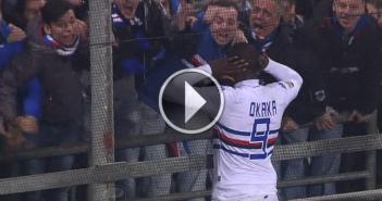 Guarda gli highlights in HD di Sassuolo-Sampdoria