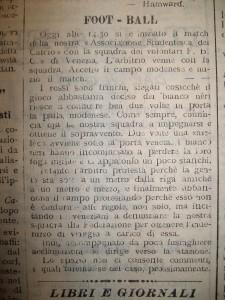 Il Panaro sull'incontro sospeso contro il Volontari FBC.