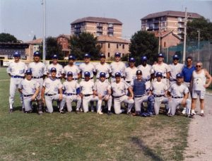 La giovane formazione del Modena del campionato di serie A - 1993