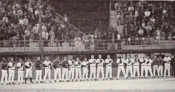 48 anni di storia del baseball modenese