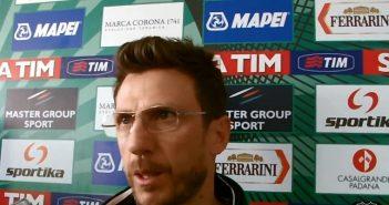 Sassuolo, Di Francesco sulla salvezza: