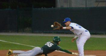 Baseball serie A: pareggio interno per il Comcor.