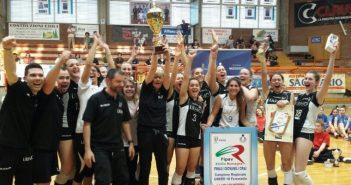 Volley, la Liu Jo Modena batte l'Anderlini nel derby e diventa Campione Regionale Under 18
