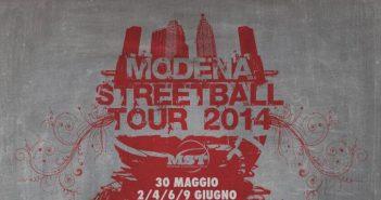 MODENA STREETBALL TOUR 2014 È ripartito il 30 maggio da Finale Emilia