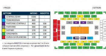 Modena Volley: Ecco i prezzi per gli abbonamenti per la prossima stagione!