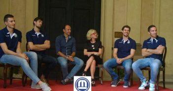 Modena Volley, all'Accademia Militare presentati Rossini, Vettori e Piano