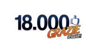 18000 volte grazie! Parlando Di Sport cambia marcia e cresce per voi