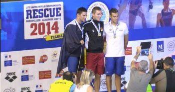Nuoto, Mondiali Rescue 2014: bronzo per Sanna nella seconda giornata