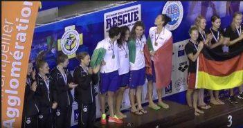 Nuoto, Meschiari grande protagonista nella prima giornata dei Mondiali Rescue 2014