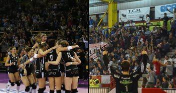 Liu Jo Modena e TerraQuilia Handball Carpi, insieme alla Notte Bianca di Carpi