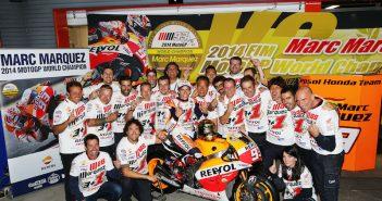 MotoGp Motegi, Marc Marquez Campione del Mondo!