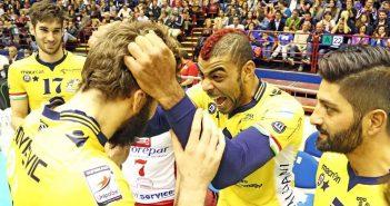 Video. Modena Volley: N'Gapeth «Stiamo giocando bene senza lasciare tanti spazi agli avversari»