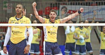 Rassegna stampa domenica 16 Novembre. Modena Volley in testa a punteggio pieno. Espugnata Piacenza con un netto 3-0.