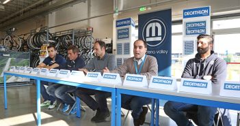 Modena Volley: la nuova partnership con Decathlon e conferenza stampa pre-match. Petric: «Con Piacenza sarà una partita difficile».  Lorenzetti: «Dovremo stare calmi e prendere subito ritmo».