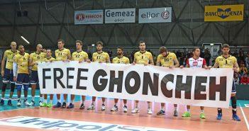 Il mondo della pallavolo, tra Firenze e Modena, si unisce grazie a Oxfam Italia, per chiedere la liberazione definitiva di Ghoncheh Ghavami.