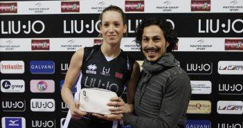 Video.  Liu•Jo Modena: Helene Rousseaux «Contente per le vittorie. Speriamo di continuare così».