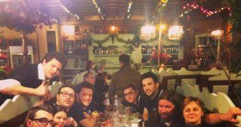 Foto del giorno: la cena di natale di parlandodisport