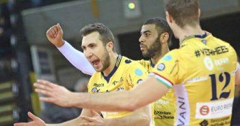 Il Resto del Carlino. Parmareggio Modena Volley, Petric presenta il match contro Trento. Sartoretti commenta l'arrivo di Ricardinho