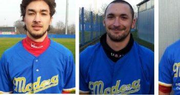 Baseball: un poker di giocatori per il Comcor Modena