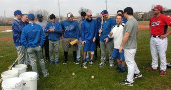 Baseball serie A federale. Primo allenamento in campo per il Comcor Modena.