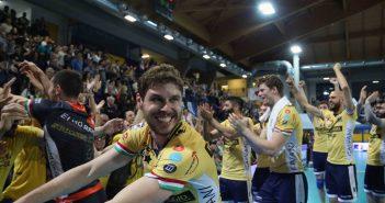 VIDEO - Parmareggio Modena Volley, ultimo punto. Si vola in finale scudetto!