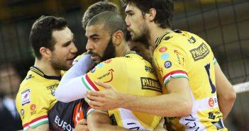 Parmareggio Modena Volley, Trento si aggiudica gara 3 col punteggio di 3-0. Mercoledì in gara 4 la possibilità di ristabilire la parità.