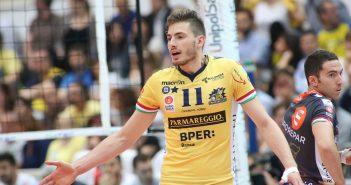 VIDEO - Parmareggio Modena Volley, Matteo Piano: