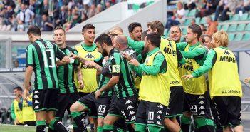 Sassuolo unica squadra imbattuta in Serie A