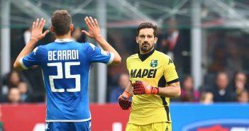 Sassuolo - Gazzetta di Modena, neroverdi a San Siro contro il Milan: Pegolo pronto all'esordio stagionale