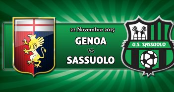Genoa-Sassuolo, prevendita settore ospiti