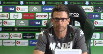 Sassuolo, mister Di Francesco: