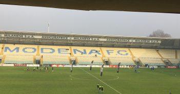 LIVE - Modena-Fano 0-0, gara a reti inviolate!