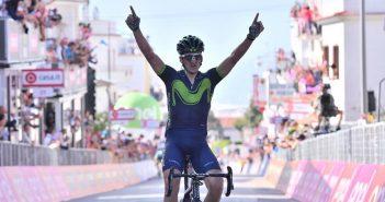 Giro d'Italia, 8ª tappa: a Peschici vince Izagirre, Conti cade nell'ultimo km