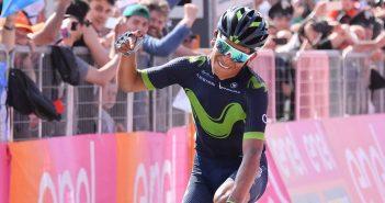 Giro d'Italia, 9ª tappa: frustata di Quintana sul Blockhaus, è lui la nuova Maglia Rosa