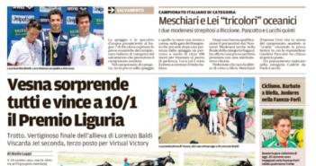 Rassegna Stampa Carlino e Gazzetta di Modena – Volley, Ciclismo e Motori