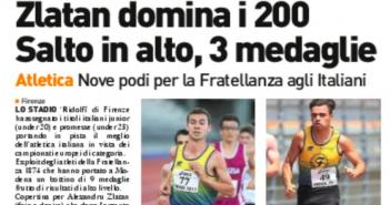 Rassegna Stampa Gazzetta di Modena e Carlino – Atletica, Ciclismo e Motori