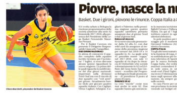 Rassegna Stampa Gazzetta di Modena e Carlino – Baseball, Basket, Golf, e Volley