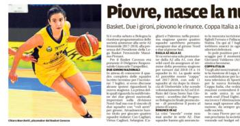 Rassegna Stampa Gazzetta di Modena e Carlino – Baseball, Basket, Golf, e Volley