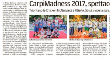 Rassegna Stampa Gazzetta di Modena e Carlino – Basket, Ciclismo e Tennis