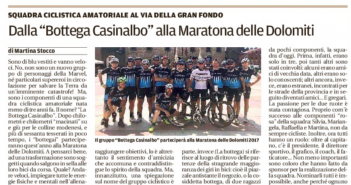 Rassegna Stampa Gazzetta di Modena e Carlino – Atletica, Ciclismo e Hockey