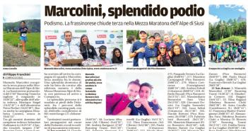 Rassegna Stampa Gazzetta di Modena e Carlino – Atletica, Tennis e Podismo