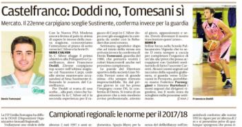 Rassegna Stampa Gazzetta di Modena e Carlino: Basket, Beach Volley e Tennis