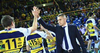 Azimut Modena Volley, Stoytchev presenta il match di domenica contro Trento: