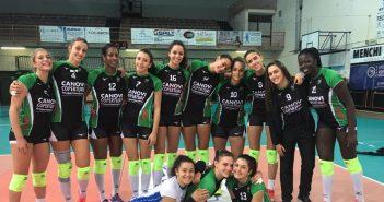 Canovi Coperture Sassuolo: vittoria al tie break in casa di Timenet Empoli