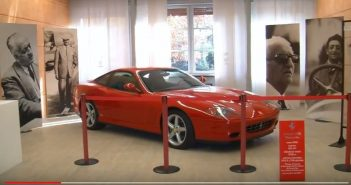 VIDEO - Maranello, opere d'arte che parlano del mito Ferrari