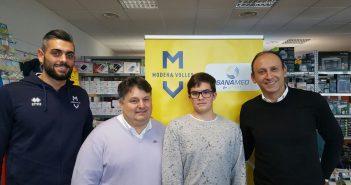 Modena Volley e Sanamed, una partnership che continua